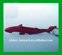 fish shape metal bottle opener