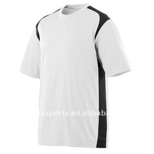 Up up 2013 Kids Dryfit wicking cooldry Sports T shirt in white/black