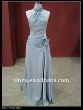Elegant Top Taffeta Halter Backless Party & Evening Dress DB2483