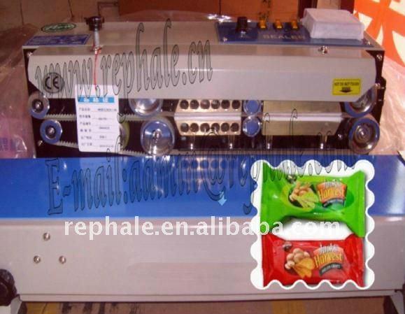 plastic/film continuous sealing machine