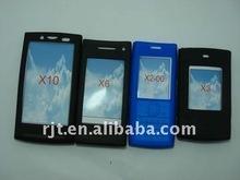 silicone skin case for Nokia x3/ x6/ x10 /x200-(RJT--TJ-0755)