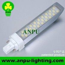 High Quality Epistar 7W SMD5050 G24 PL LED Light