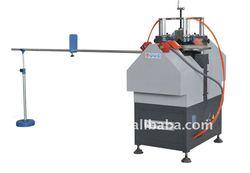 PVC window machinery for glazing bead cutting