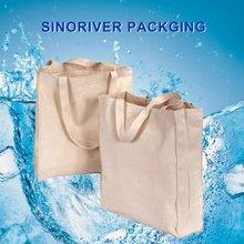 100 natural cotton canvas bag