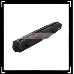 Black 9 Cell 11.1V 7800mAh Notebook Li ion Battery Pack For Acer Aspire One ZG5 A110 A150