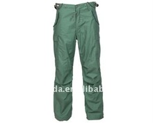 Camouflage Military Alpha Pants In Olive Green