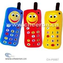 Baby Christmas Toy, Mini Plush Phone