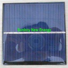1W 6V Epoxy Photovoltaic Solar Panel