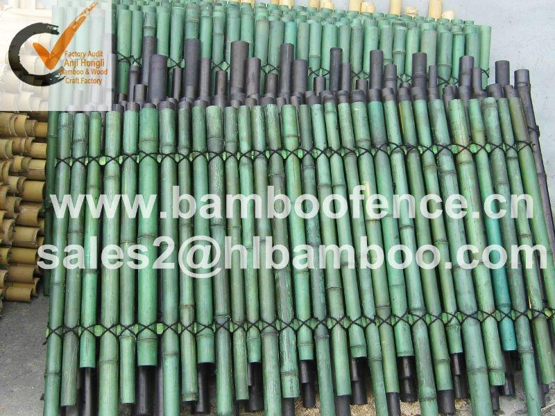 decoracao jardim bambu:Natural de bambu painel cerca para decoração de jardim-Cerca, rede