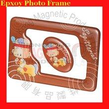 Taurus fridge magnetic picture frames