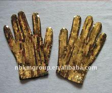 hot Sequin Dance Gloves