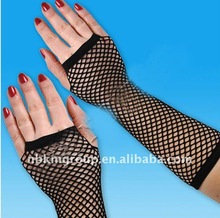 wedding fishnet gloves