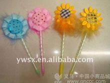 unique promotional flower ballpoint pen