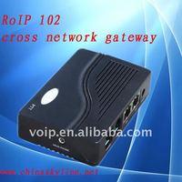 RoIP 102,sip server,Cross network gateway/voip gateway for voice communication