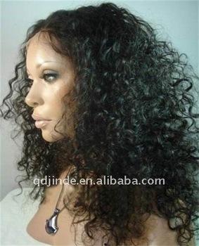 Stock 100% Brazilian Remy Hair Full Lace halloween wigs