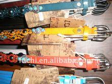 leather unisex wholesale brand belt