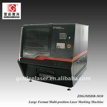 Galvo machine laser engraving metal pen