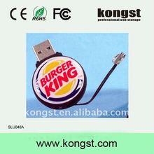 soft pvc usb flash drives 1g 2g 4g usb flash storage