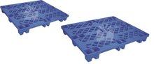 hdpe dimension of euro plastic pallet elements-DX1210E