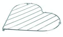 Hot Sale Heart-shaped Metal Kitchen Wire Hot Pot Rack/Mat