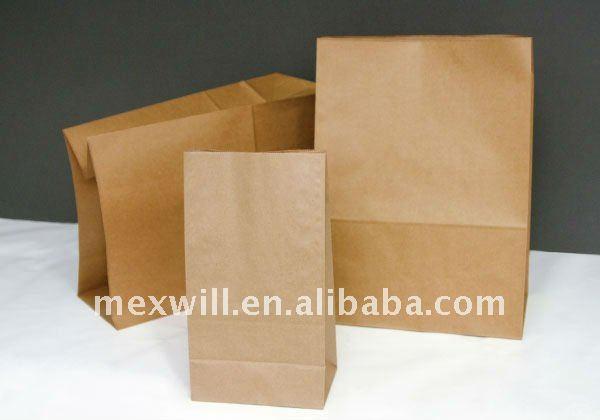 bolsas de papel para el pan
