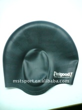 ear protect silicone swimming cap