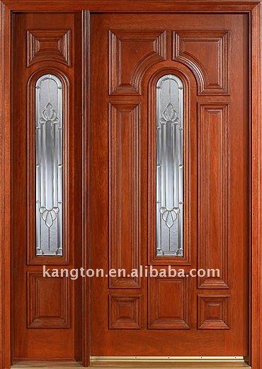 Caoba de madera puertas puertas de entrada de puertas for Puertas de entrada de madera precios