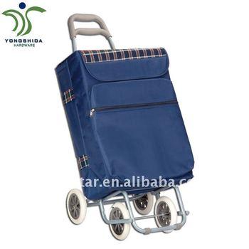 four wheel shopping cart