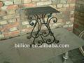 decorativos de hierro forjado soporte de flor olla de hierro estante de la flor de pie