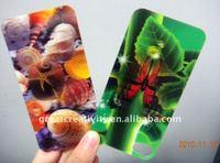 3D flip advertising cards