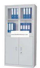 steel file cupboard with up sliding door