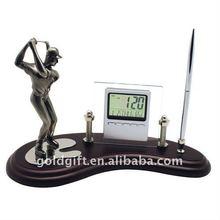 golf gulf set with digital clock