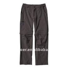 Men's fashion Rock Guide baggy Zip-Off Pants