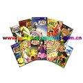 adultos de dibujos animados y libro de historietas