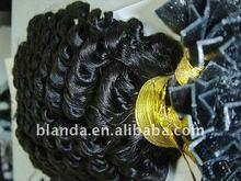 Fashion V tip pre bonded remy hair