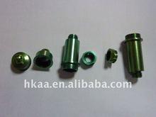precision aluminum screws and caps