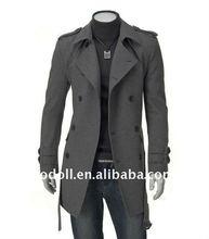 2011 Large Lapel Mens Coats for Winter