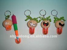 promotion cartoon figure Stretchy Ball Pen,cartoon character keychain ballpen,halloween gift ballpen
