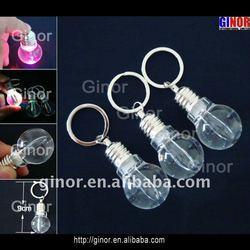 Acrylic Mini Bulb Keychain