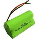 NI-MH Battery pack AA 3.6V 1000mAh