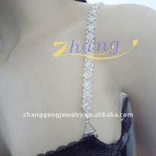 New design rhinestone bra straps