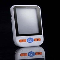 Handheld electronic reading video magnifier