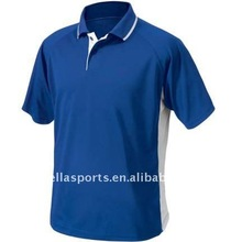 2012 Fashion/Newest/Relaxed/Leisure 100% Polyester Pique Knit OEM Men's Stylish Short Sleeves Polo Collar T-Shirts/Jersey