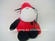 high quality plush toy pink lamb