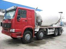 Engineering vehicles:mixer truck HOWO 8X4