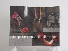 printed pp shopping bag /shoes design