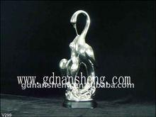 cisne de cerámica decorativo casero