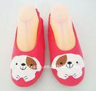 fleece dancer fashion design shoes with dog head RC-EF-0529