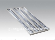 Recessed ,Mirror surface 4X28W grill fluorescent light fixture