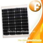 40W 12V power mono Thin film solar panel